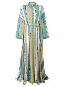 Emilio Pucci long printed dress - Multicolour