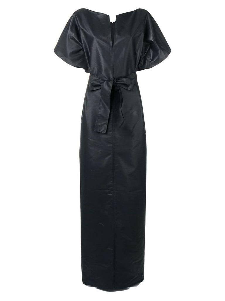 Givenchy long belted dress - Black