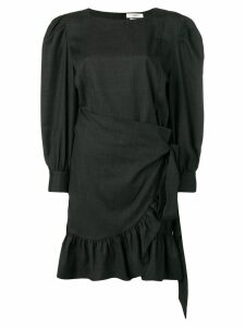 Isabel Marant Étoile short frilled dress - Black