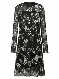 See By Chloé floral print midi dress - Black