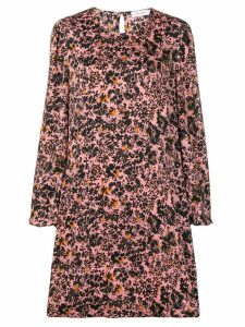 Calvin Klein floral print shift dress - Pink