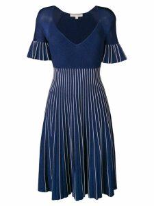 Jonathan Simkhai striped lurex knit dress - Blue