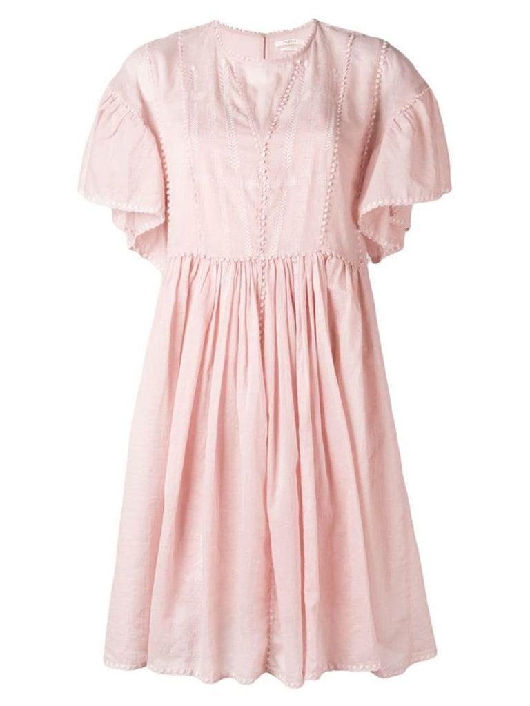 Isabel Marant Étoile annaelle vintage lace dress - Pink