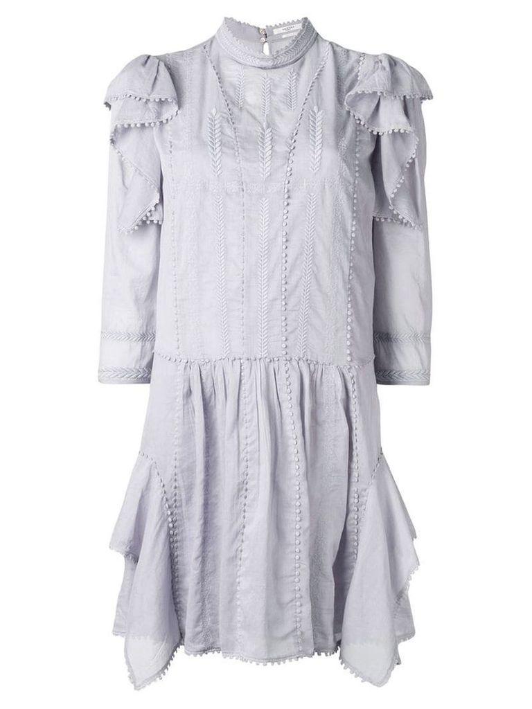 Isabel Marant Étoile alba vintage lace dress - Blue