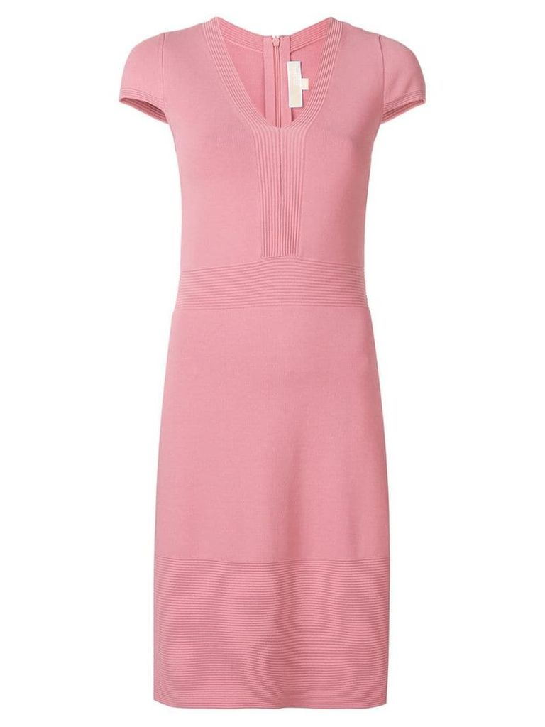 Michael Michael Kors short V-neck dress - Pink