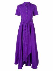 P.A.R.O.S.H. belted shirt dress - Purple