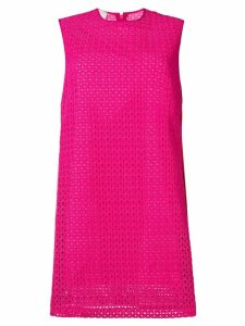 Pinko perforated shift dress
