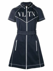 Valentino VLTN track dress - Blue
