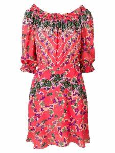 Saloni Grace mini dress - Pink