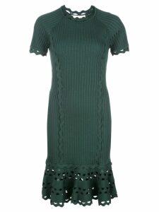Jonathan Simkhai fitted mini dress - Green