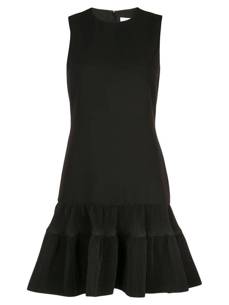 Victoria Victoria Beckham fitted peplum dress - Black