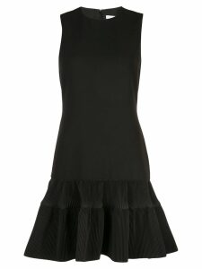 Victoria Victoria Beckham fitted peplum dress - Black