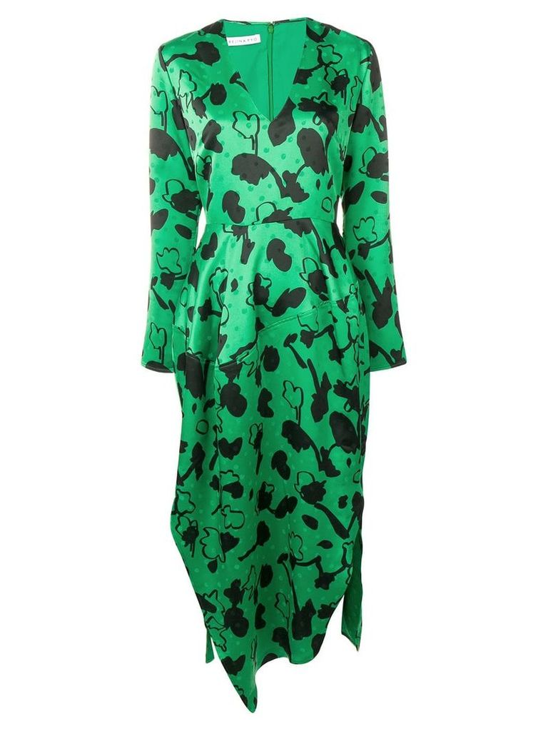 Rejina Pyo floral polka dot dress - Green