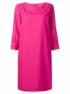 Odeeh cropped sleeve dress - Pink
