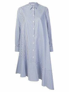 P.A.R.O.S.H. asymmetric shirt dress - Blue