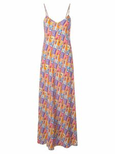 Lhd printed maxi dress - Multicolour