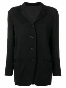Romeo Gigli Pre-Owned 1990 jacket - Black