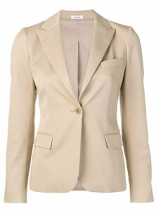 P.A.R.O.S.H. fitted blazer - Neutrals