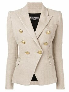 Balmain double breasted blazer - Neutrals