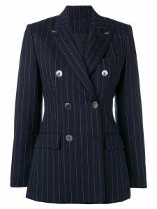 Max Mara pinstripe structured blazer - Blue