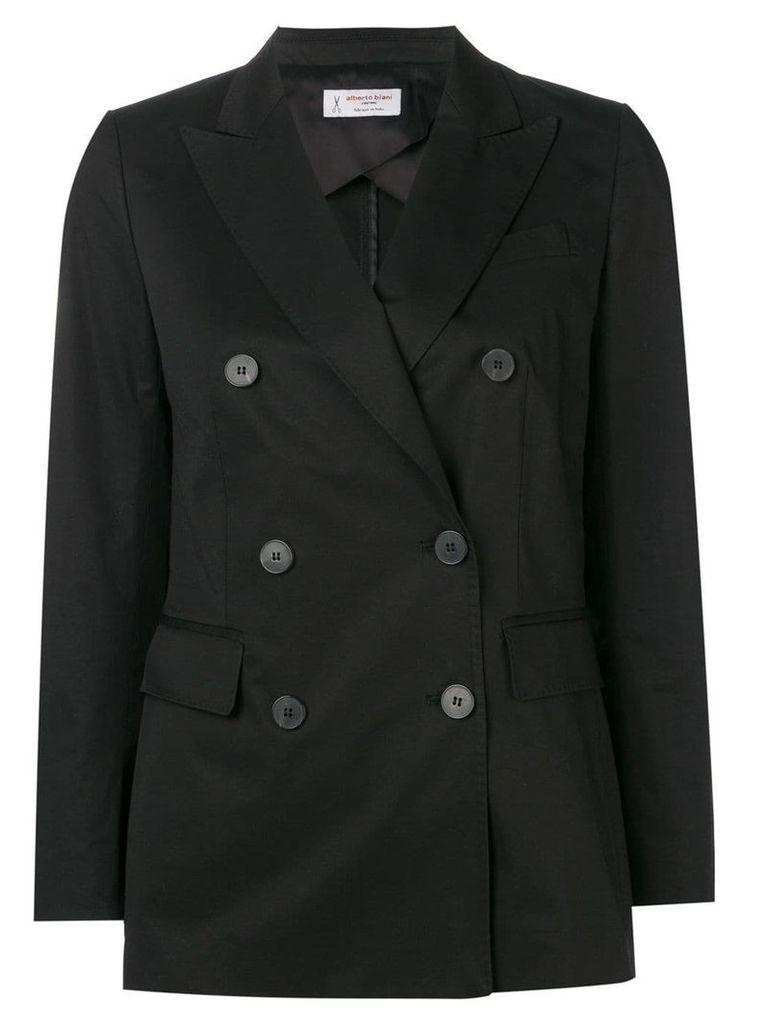 Alberto Biani double breasted blazer - Black