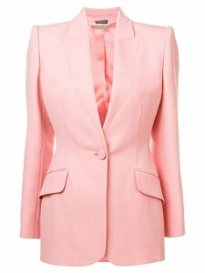Alexander McQueen single-breasted blazer - Pink