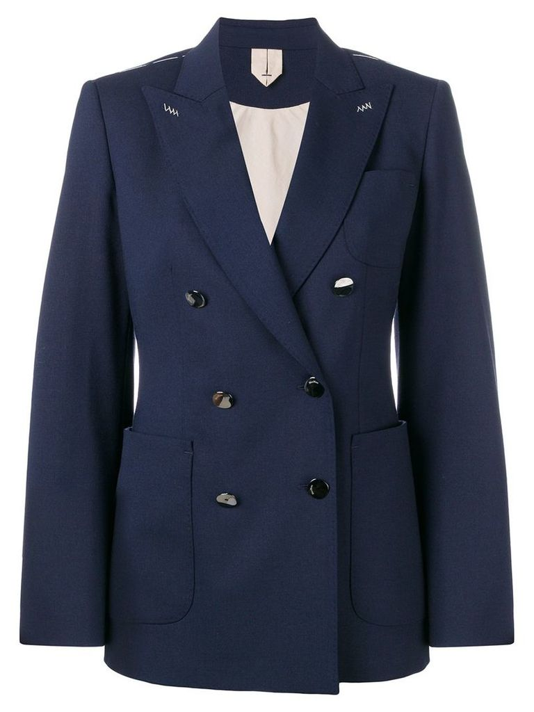 Max Mara tailored formal blazer - Blue