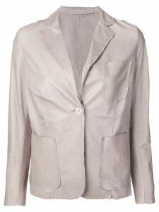 Salvatore Santoro single breasted blazer - Neutrals
