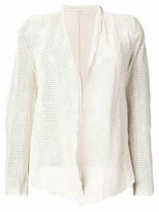 Salvatore Santoro open front blazer - White