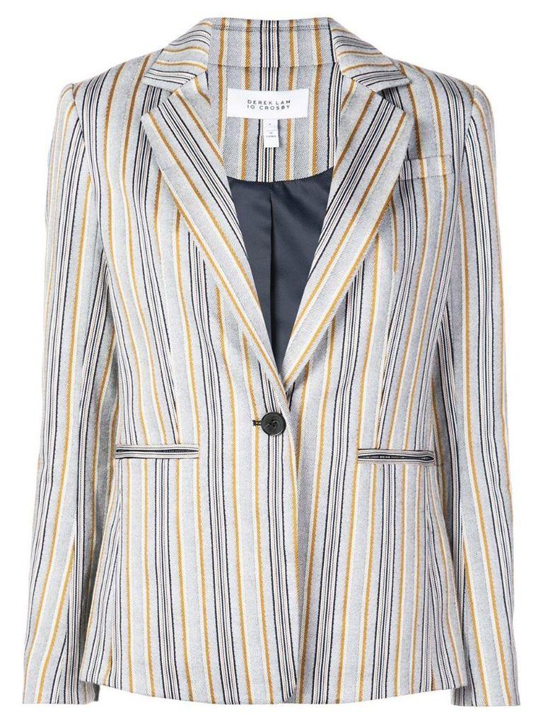 Derek Lam 10 Crosby striped blazer - Blue