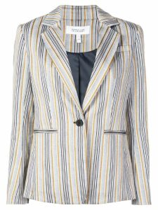 Derek Lam 10 Crosby striped blazer - Blue