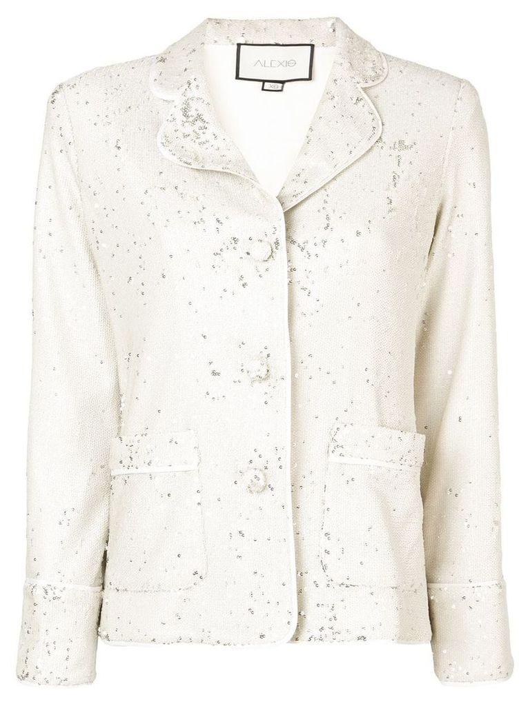 Alexis sequin embellished jacket - Neutrals