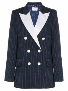 Racil casablanca pinstripe wool blazer - Blue