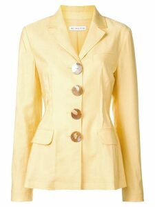 Rejina Pyo shell button blazer - Yellow