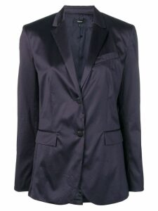 Theory notch lapel blazer - Blue