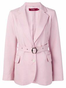 Sies Marjan belted blazer - Pink
