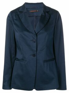 Incentive! Cashmere relaxed fit blazer - Blue