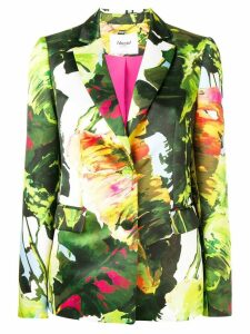 Blugirl floral fitted blazer - Green