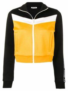 Miu Miu colour block jacket - Yellow