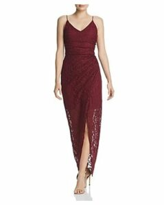 Aqua Glitter-Lace Gown - 100% Exclusive