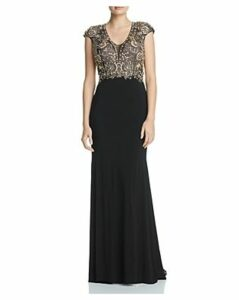 Aqua Embellished Bodice Gown - 100% Exclusive