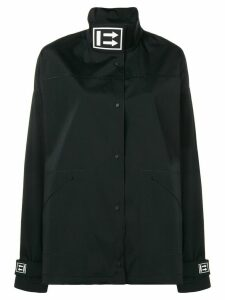 Off-White oversized track coat - Black