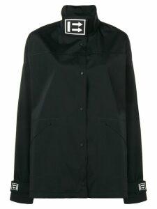 Off-White oversized track coat - Black