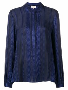 Zeus+Dione embroidered blouse - Blue