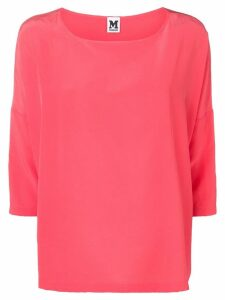 M Missoni cropped sleeve blouse - Pink