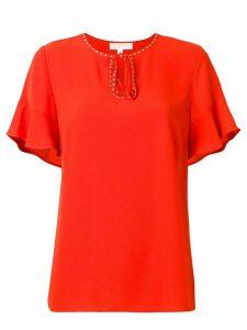 Michael Michael Kors loose fit blouse - Orange