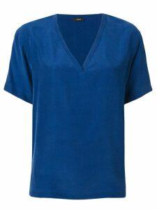 Joseph V-neck blouse - Blue