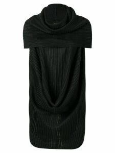 Rick Owens ribbed style blouse - Black