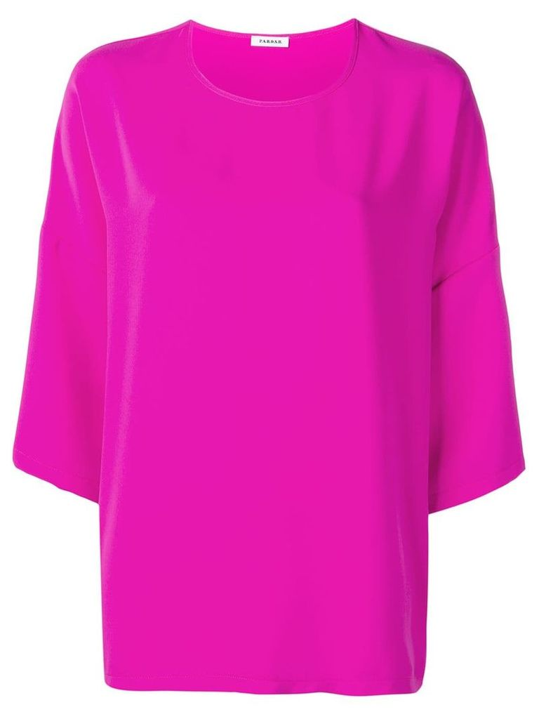 P.A.R.O.S.H. dropped shoulder blouse - Pink