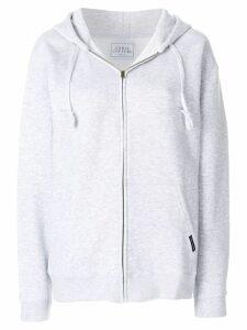 Forte Dei Marmi Couture oversized zip up hoodie - Grey